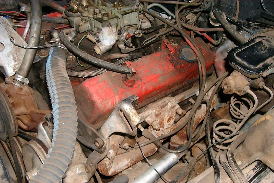 How to mount compressor w/Headers? - El Camino Central Forum