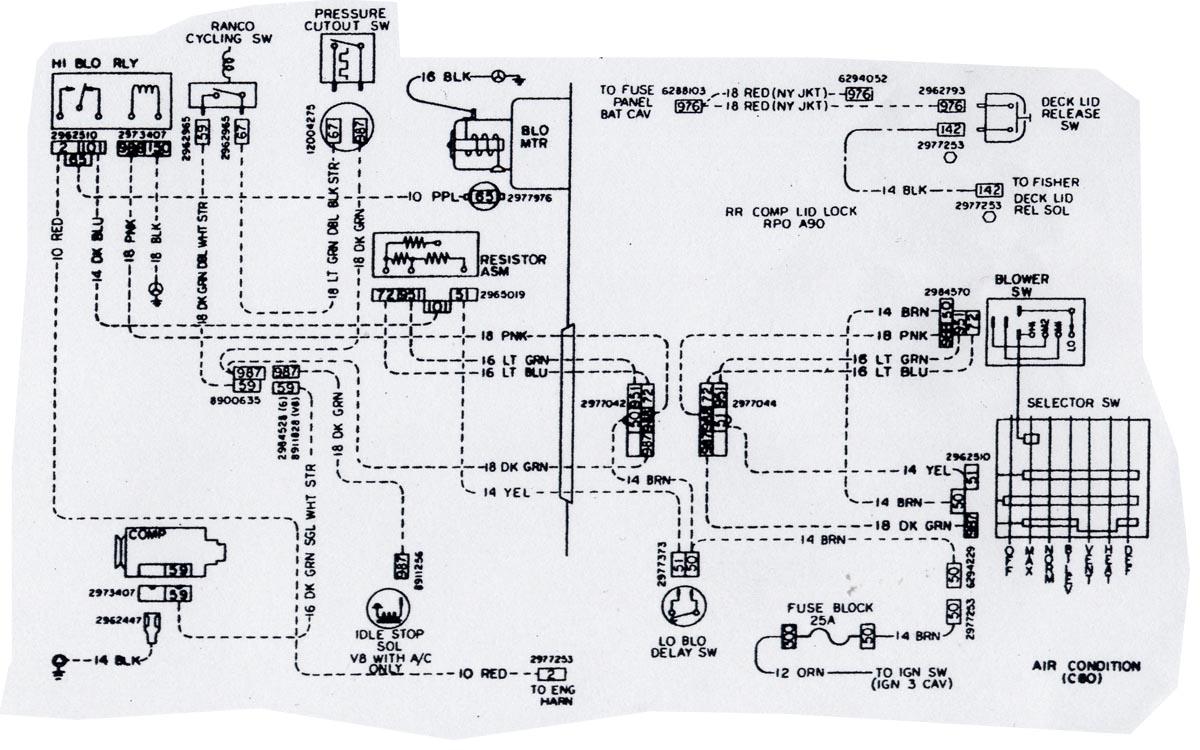 AC compressor wiring help. | El Camino Central ForumEl Camino Central Forum