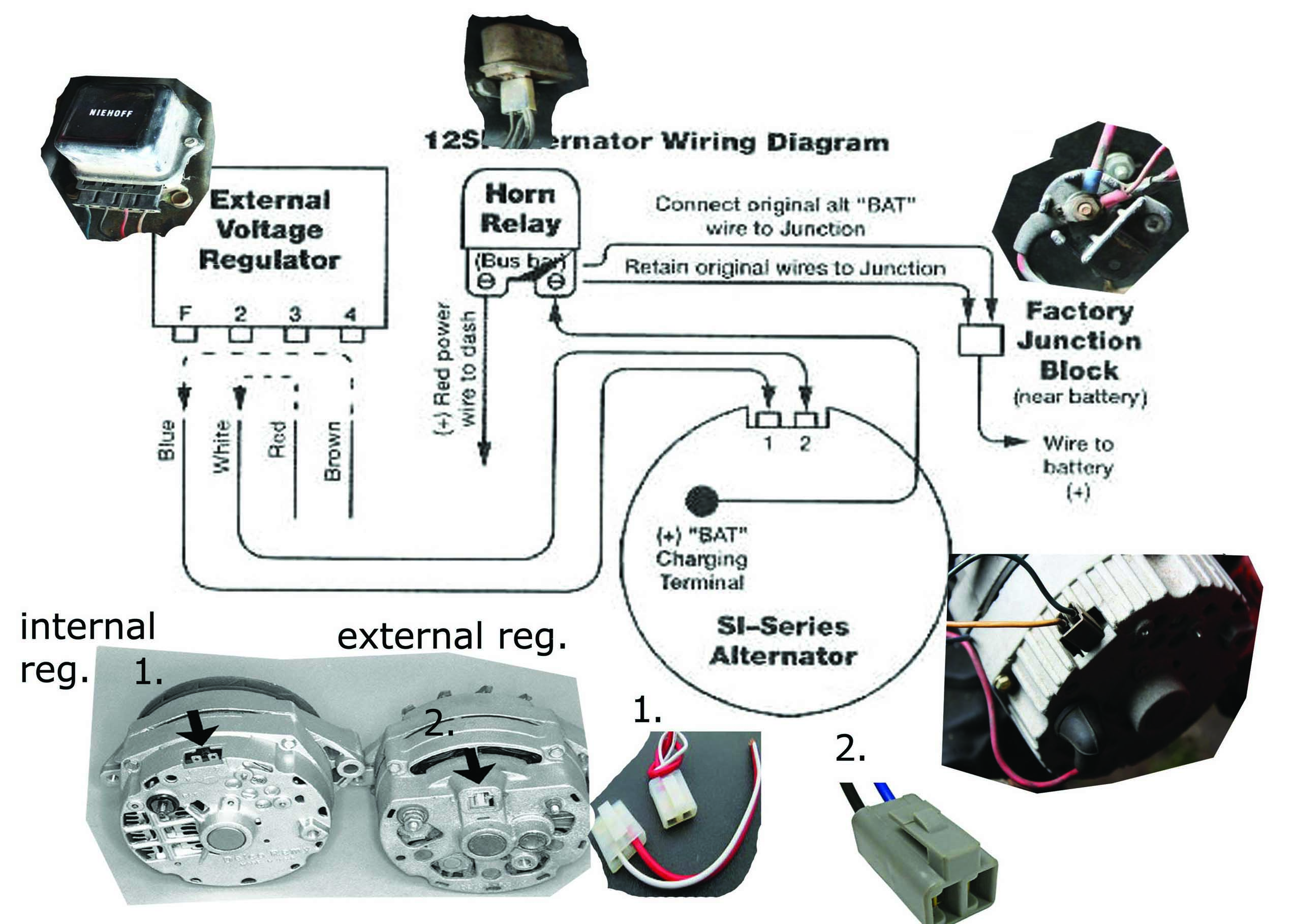 Alternator/voltage regulator - El Camino Central Forum ... on