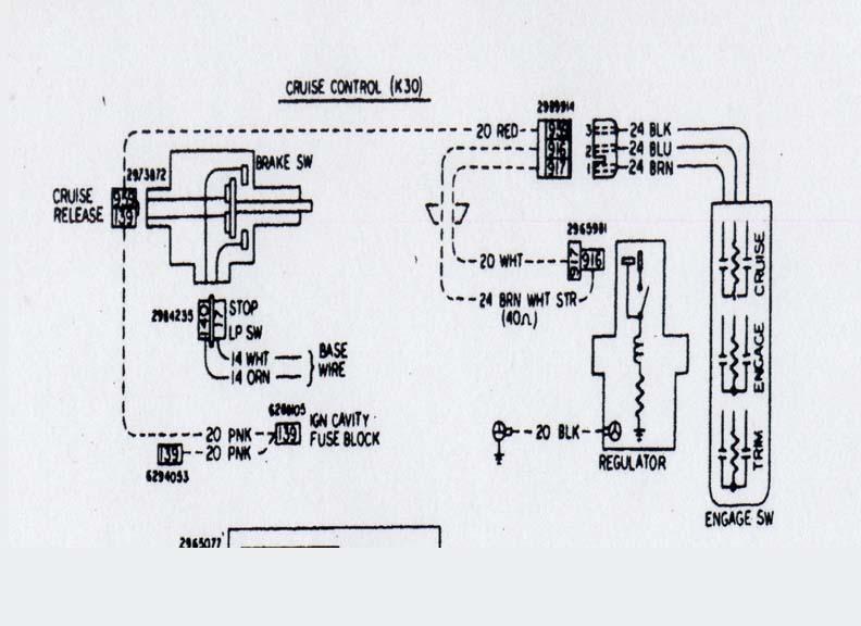need cruise control wiring diagram | el camino central forum  el camino central forum