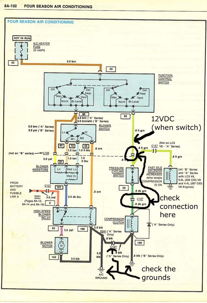 A/C wiring question???? | El Camino Central ForumEl Camino Central Forum
