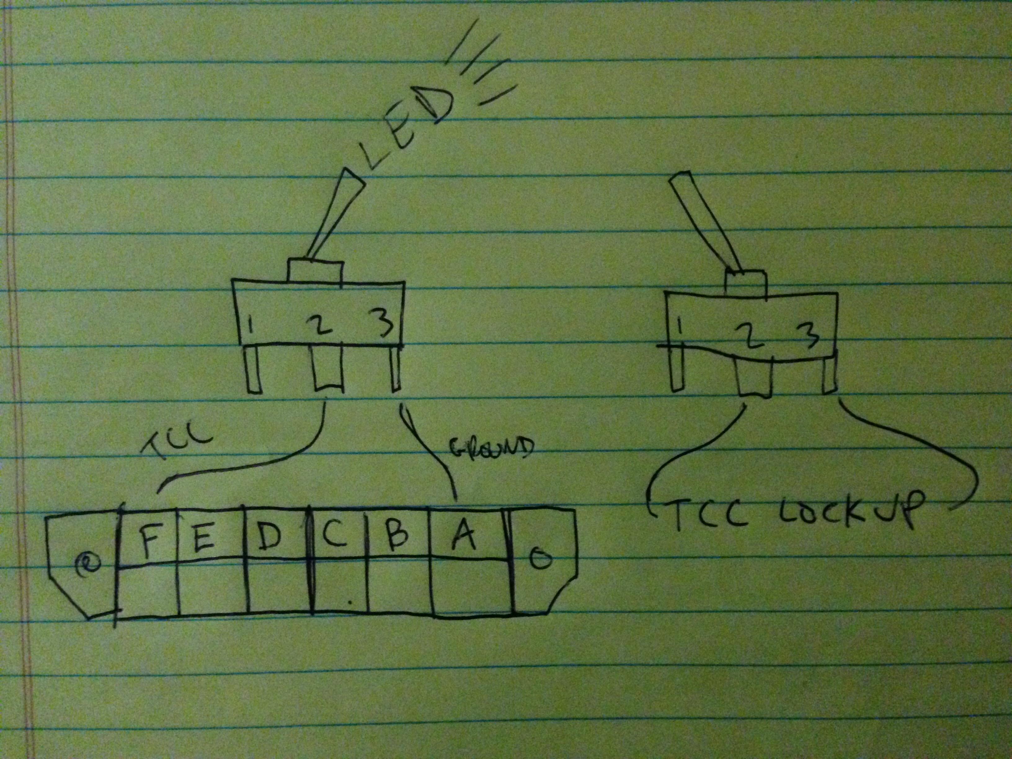 Tcc Lock Up Toggle Switch Diagram For Ccc Delete El Camino Central Forum