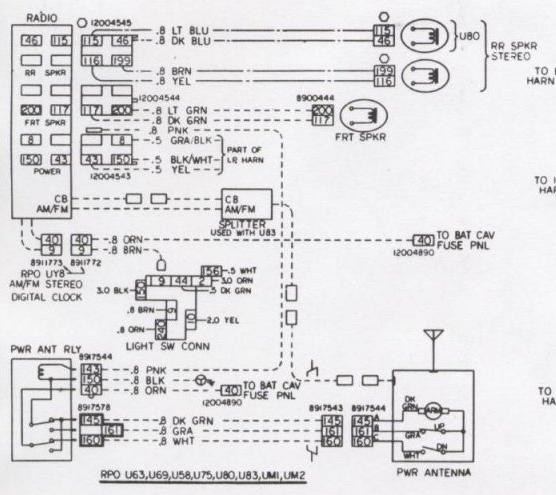 Delco Stereo Wiring Diagram from www.elcaminocentral.com